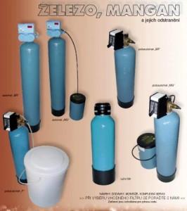 Železo a mangan - odstranění z vody